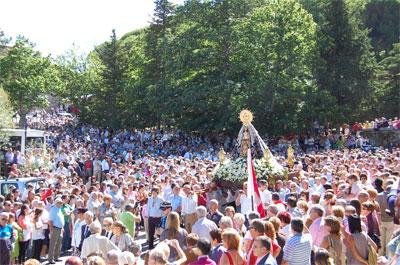 Procesión Virgen del Castañar, Béjar