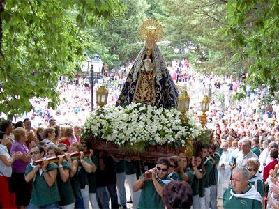 Procesión de la Virgen del Castañar. Béjar 2010