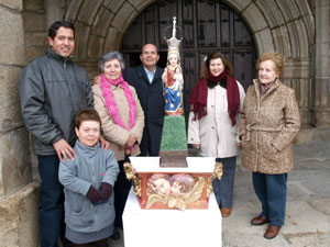 Virgen de la Orden de Puente del Congosto restaurada