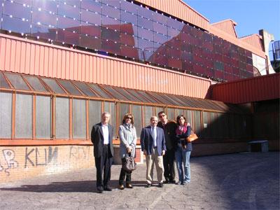 Visita al Pabellón municipal de Béjar