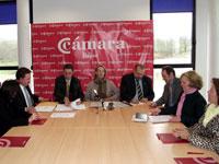 Firma Convenio financiación Vivero de Empresas de Béjar