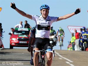 Daniel Martin, Ganador en La Covatilla, Vuelta España 2011