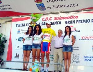 De Segovia, lider Vuelta a Salamanca