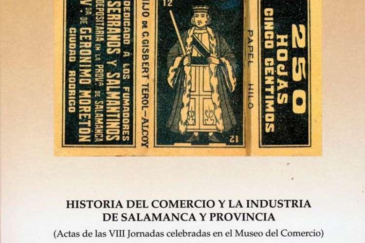 Cartel actas historia del comercio de Salamanca y provincia