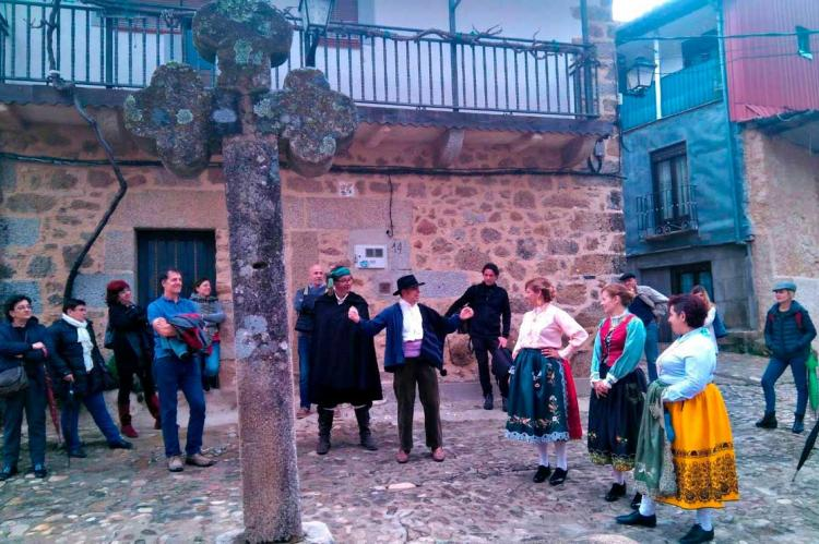 Actividades en Cepeda, imagen Facebok Ruta del vino Sierra de Francia