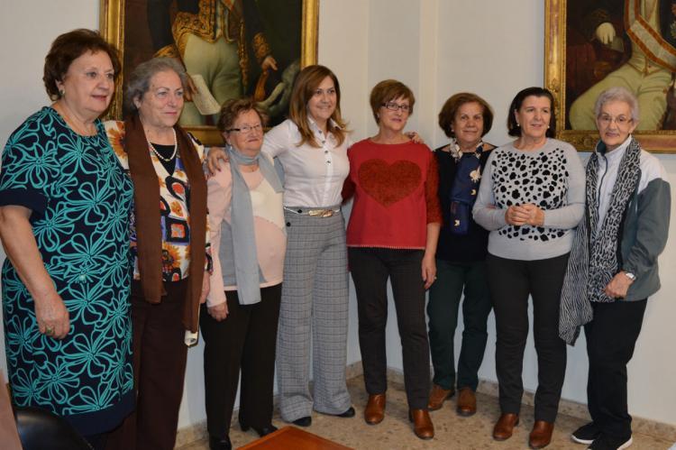 Recepción de representantes de los centros de Cultura Popular y del Centro de Día de Béjar