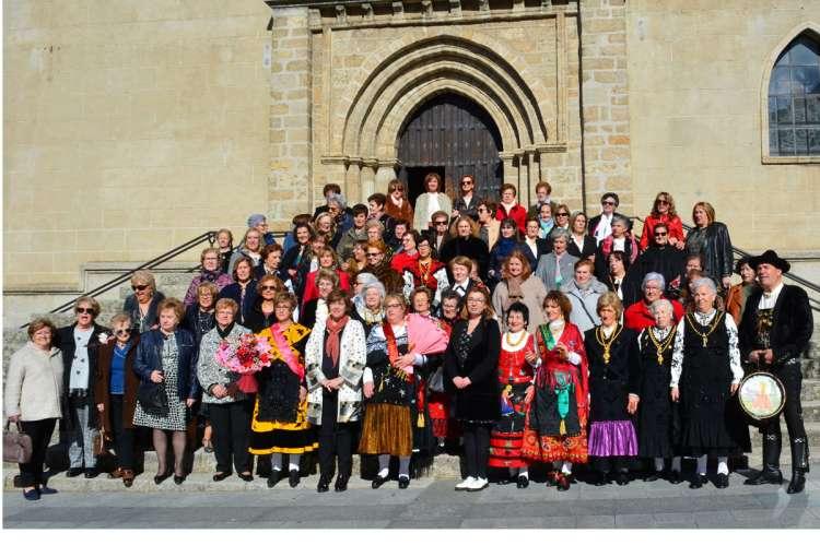 Fotografia de grupo de Las Águedas de Béjar