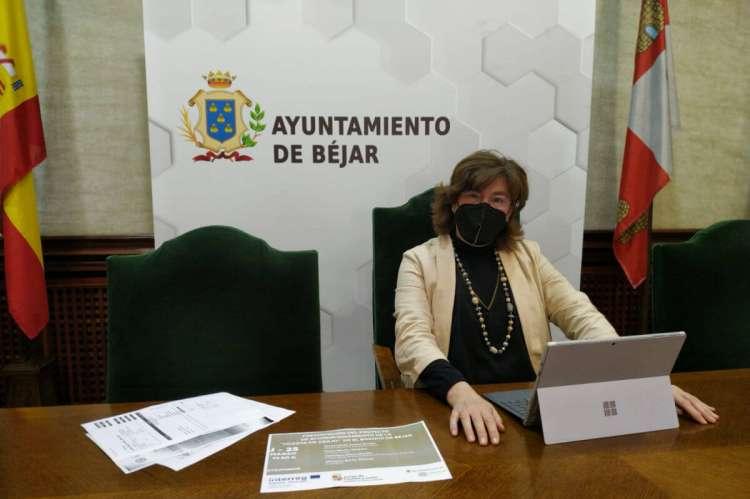 María Elena Martín Vázquez, alcaldesa de Béjar