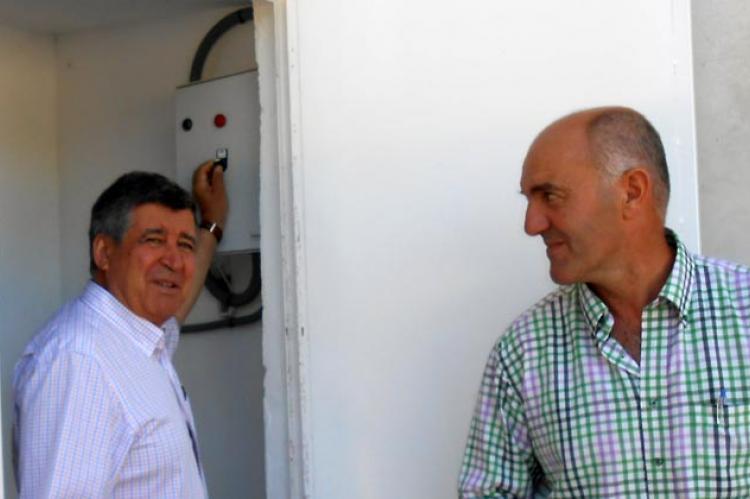 Alejo Riñones y Alejandro Romero.