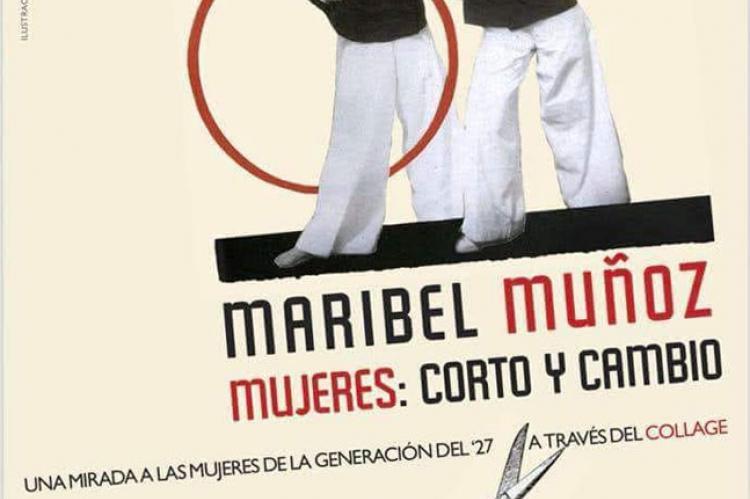 Cartel promocional de la exposición Mujeres: Corto y cambio