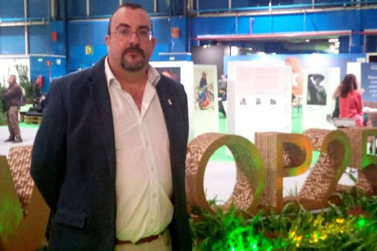 Jose angel Castellano en la COP 25