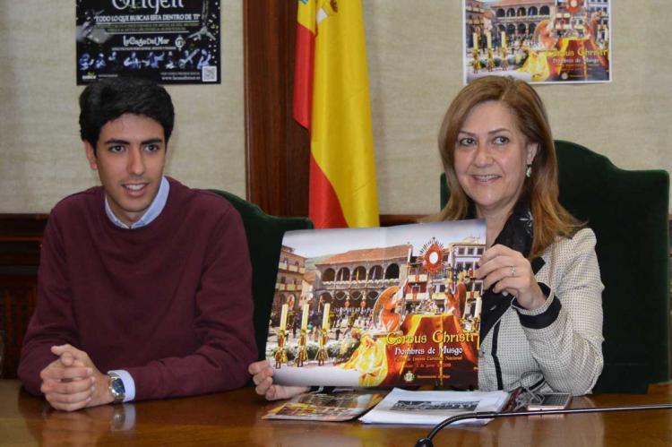 Ángel Orgaz y Purificación Pozo presentan el programa del Corpus