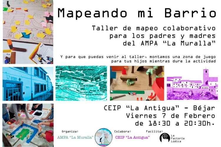 Cartel de una de las actividades del CEIP