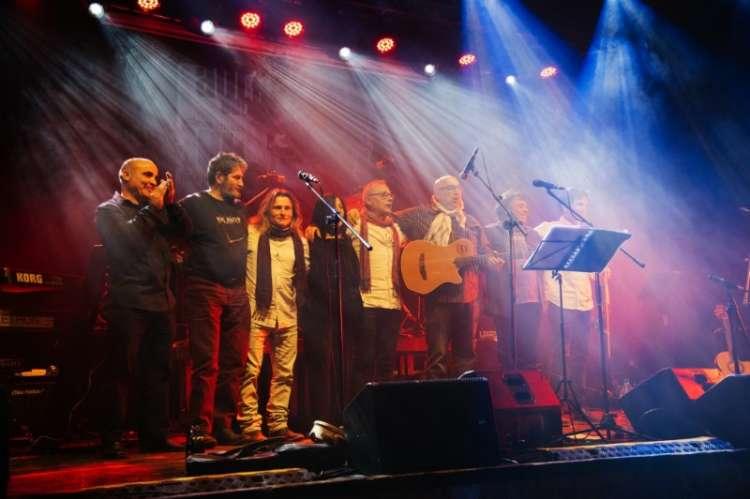 Aulaga Folk, imagen concierto 2017