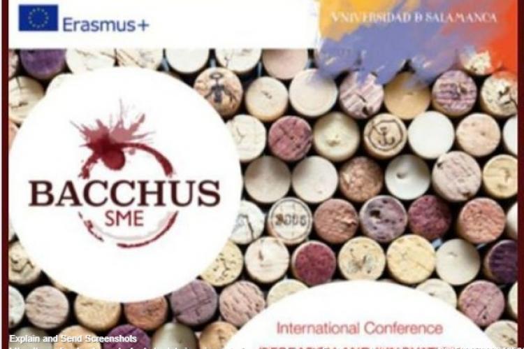 Cartel de la web de la organización