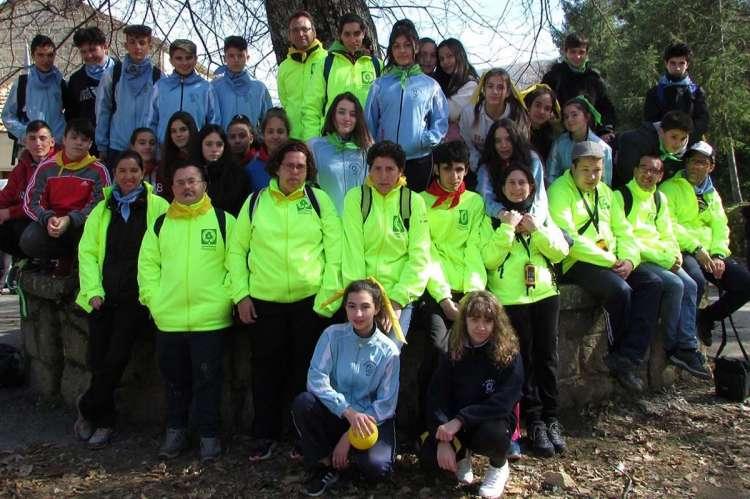 Jornada de Basuraleza Asprodes  y María Auxiliadora, participantes