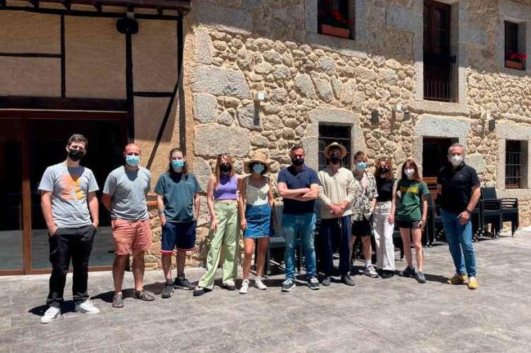 Premiados con las Becas de la USAL y la Diputación en San Esteban de la Sierra