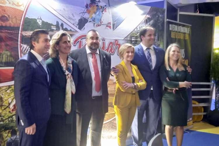 El concejal delegado Jose ángel Castellano durante la visita de autoridades