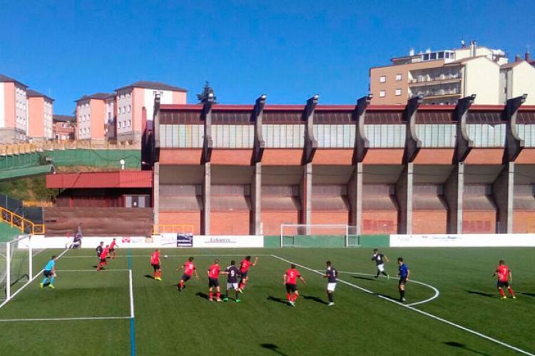 Encuentro entre el Béjar Industrial y el Villaralbo disputado en Béjar