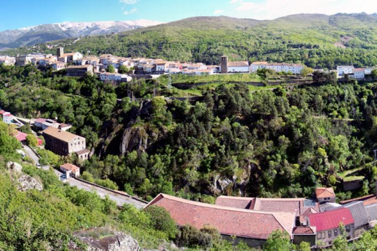 Vista panorámica del casco urbano de Béjar