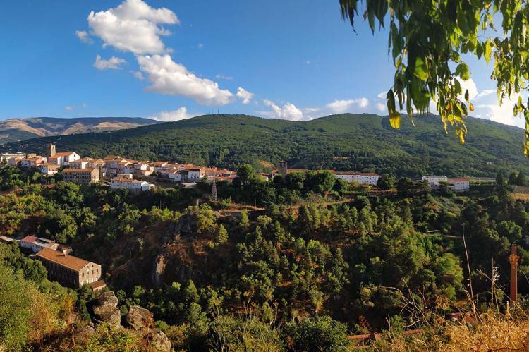 Vista parcial de Béjar desde el Ventorro Pelayo