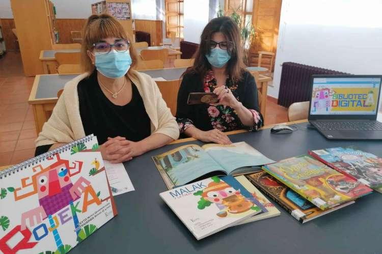 Presentación de la biblioteca infantil digital de Béjar