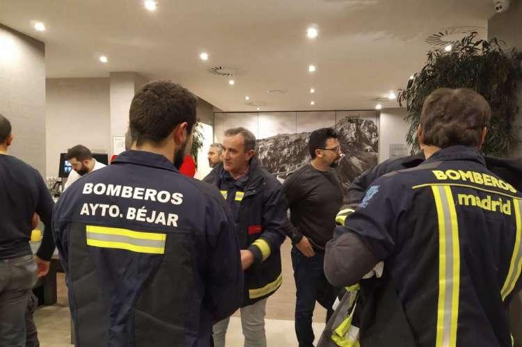 Workshop de bombrero sobre incendios en Bilbao
