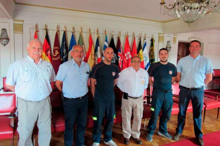 Manuel Gómez y Jesús Barroso recibidos en la Dirección General