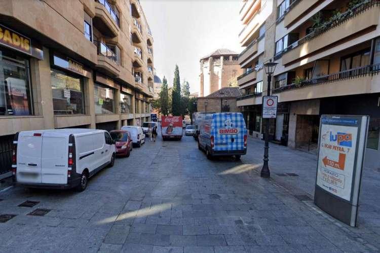 Calle Bordadores en Salamanca