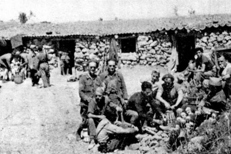 Imagen archivo Brigadas Internacionales