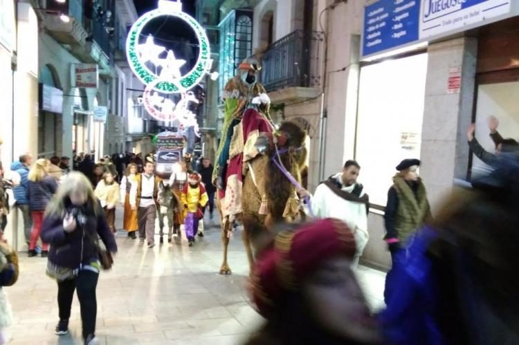 Imagen de la Cabalgata de Reyes Magos