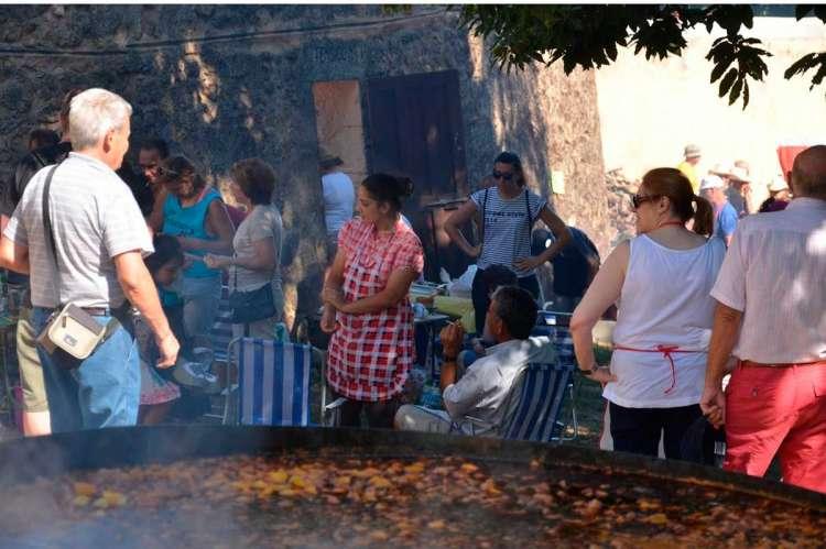 Archivo. Participantes en el concurso del Calderillo