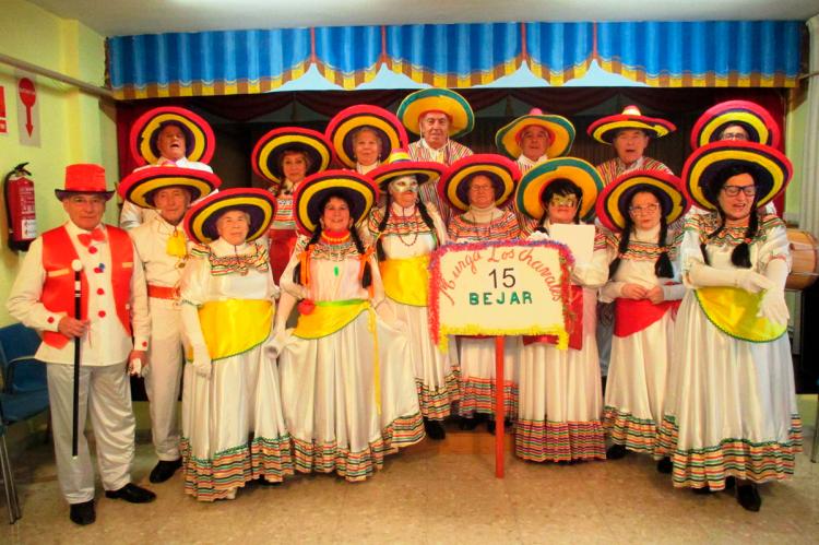 Carnaval en el Centro de Día