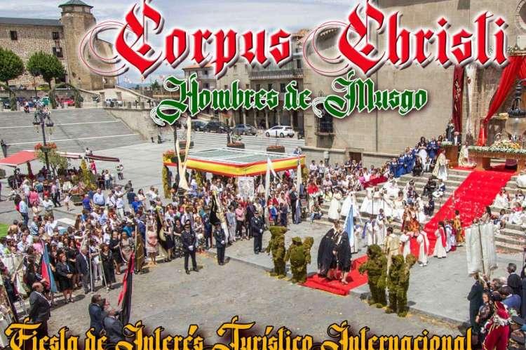 Vista parcial del Cartel anunciador del Corpus Christi bejarano
