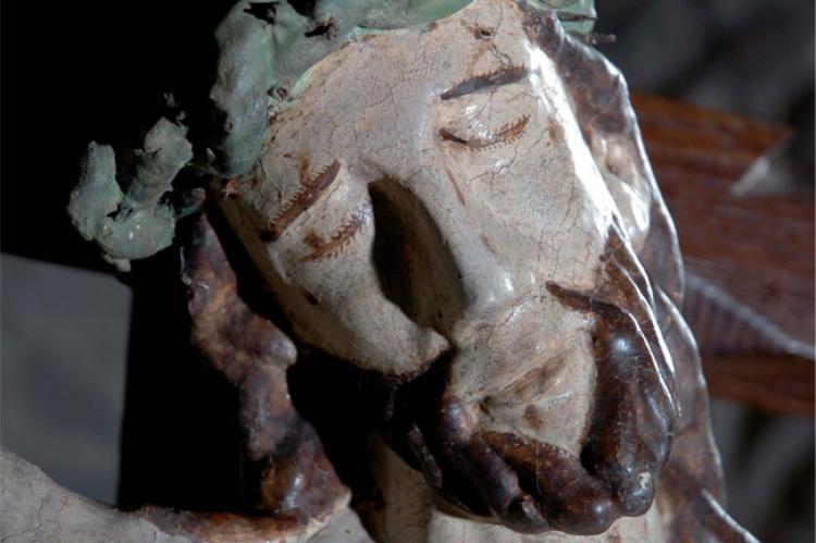 Cartel de la exposición Crucifixus