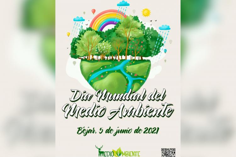 Cartel del Día Internacional del Medio Ambiente en Béjar