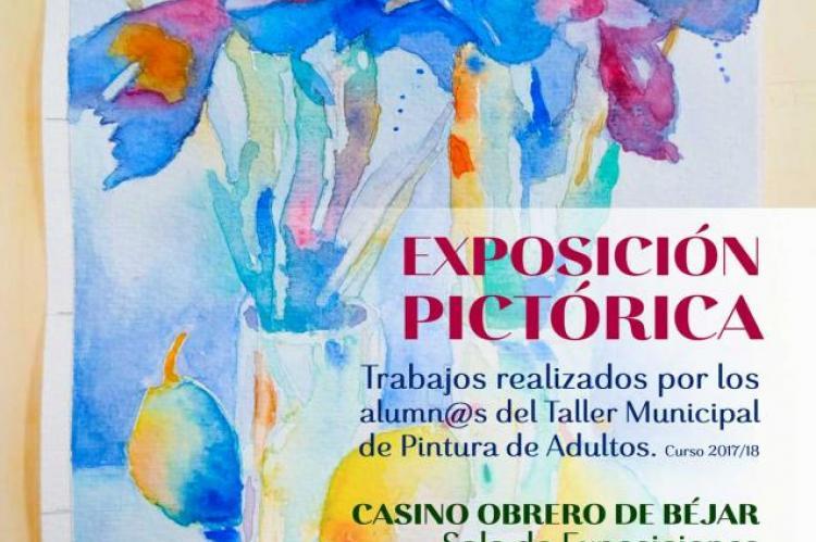 Cartel de la exposición pictórica