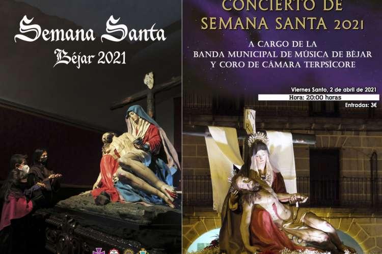 Carteles de Semana Santa y Concierto de Semana Santa 2021