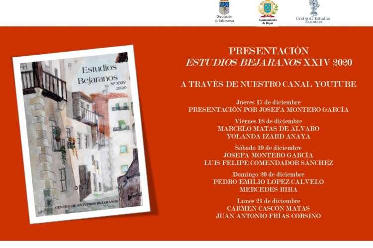 Cartel anunciador de la presentacion de la revista