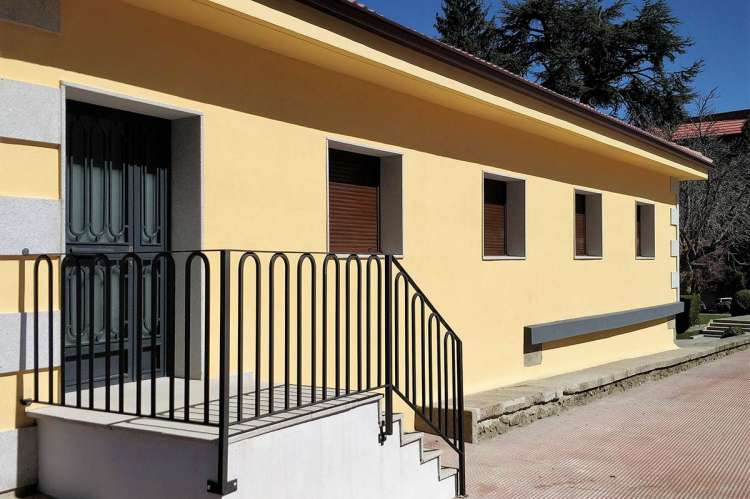 Casa del estudiante, ubicada en el parque municipal