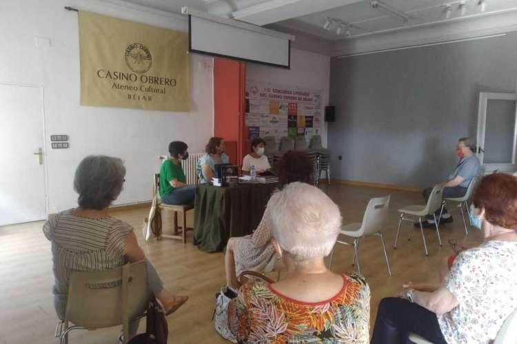 Presentación del libro Revictimizadas Migrantes de violencia de género en el Casino Obrero e Béjar