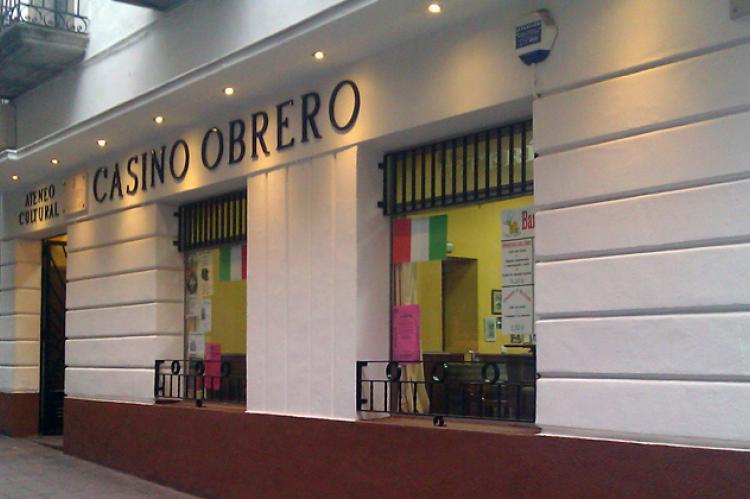Fachada Casino Obrero