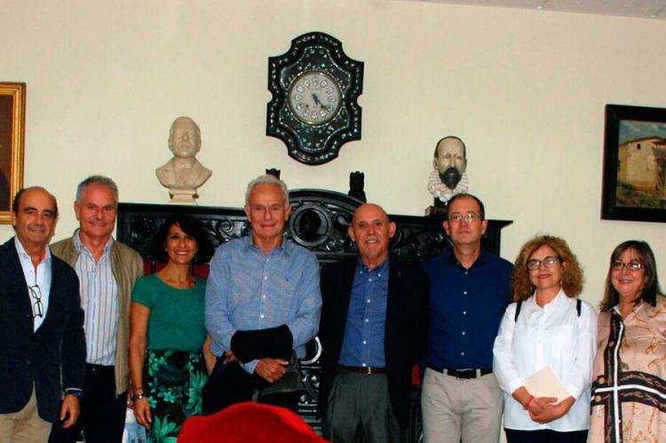 Hermanos Melul y miembros del CEB y del CIFP