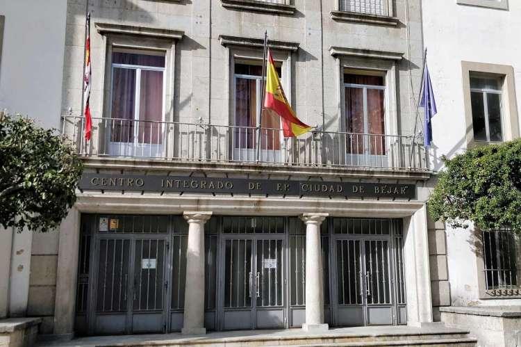 Fachada del Centro Integrado de FP de Béjar, donde se encuentra la sección de la EOI
