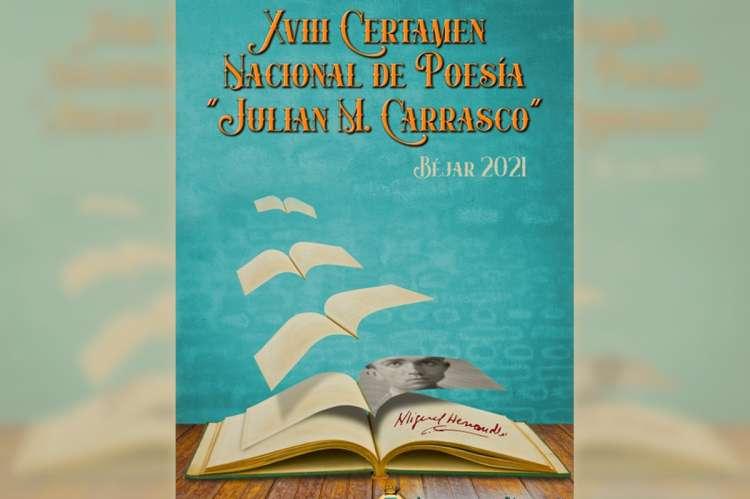 Cartel del Certamen Nacional de Poesía