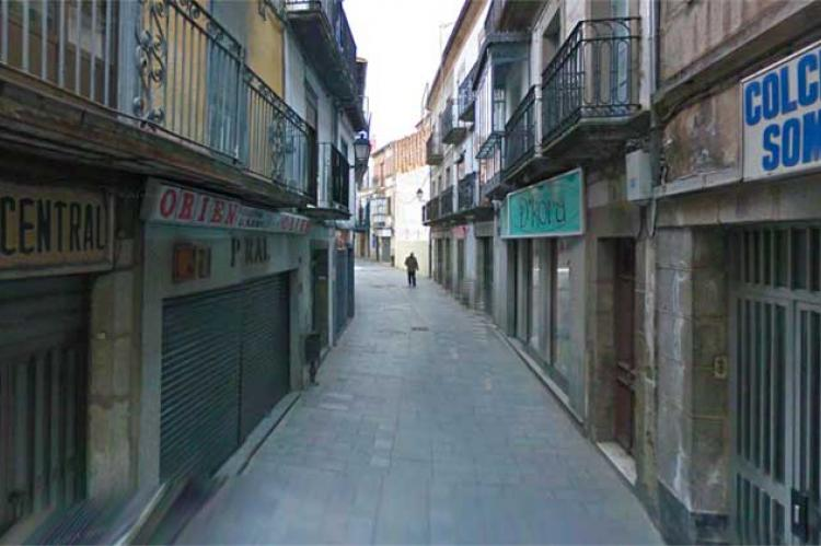 Calle comercial en Béjar