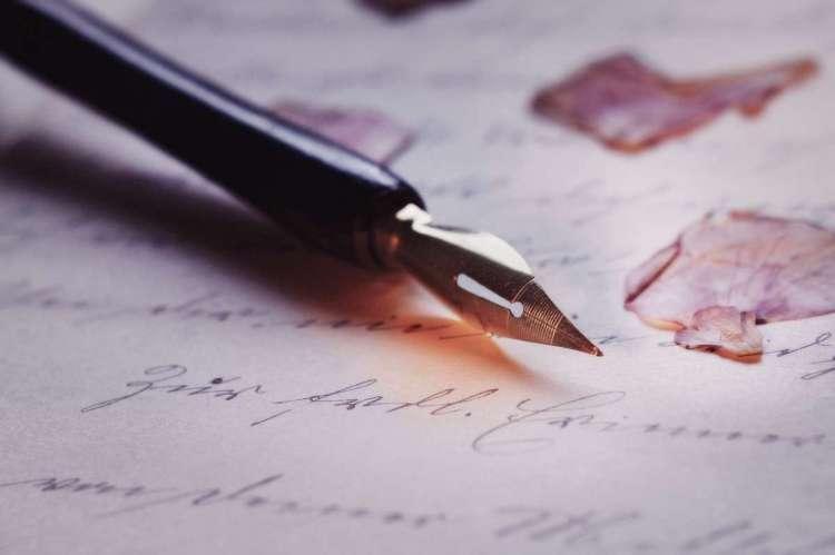 Pluma estilográfica, concurso literario