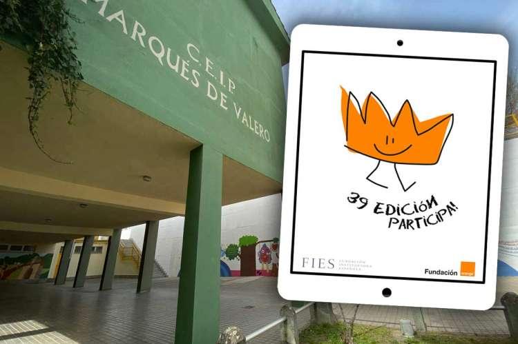 Composición. Colegios Marques de Valero y Logo del concurso ¿Qué es un rey para tí?