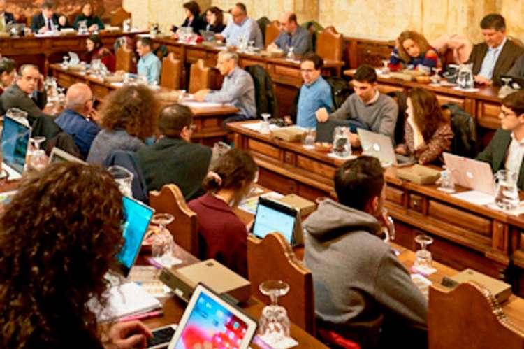 Sesion consejo de gobierno . Imagen USAL