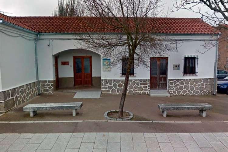 Vista exterior del Consultorio médico de Los Santos